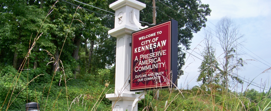 City of Kennesaw Gateway Signage