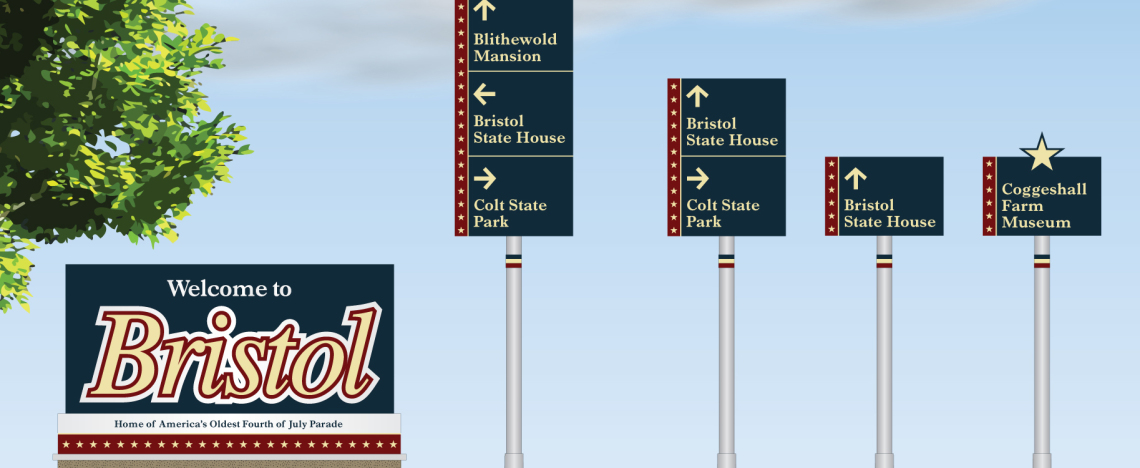 Town of Bristol Sign Package