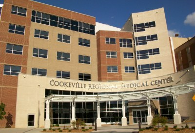 Cookeville Regional Medical Center Exterior