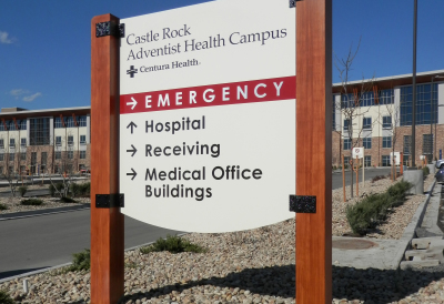 Castle Rock Adventist Health Center Directional