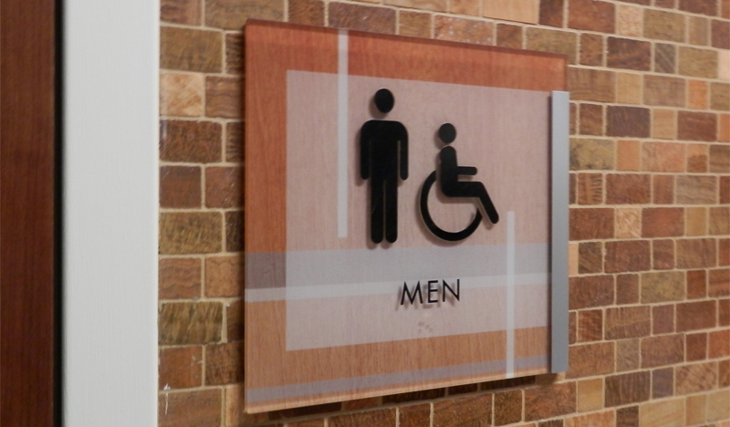 Castle Rock Adventist Health Center Restroom Identification