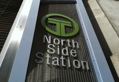 North Side Station Entrance