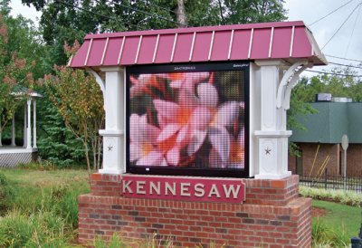 City of Kennesaw Message Center
