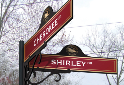 City of Kennesaw Street Signs