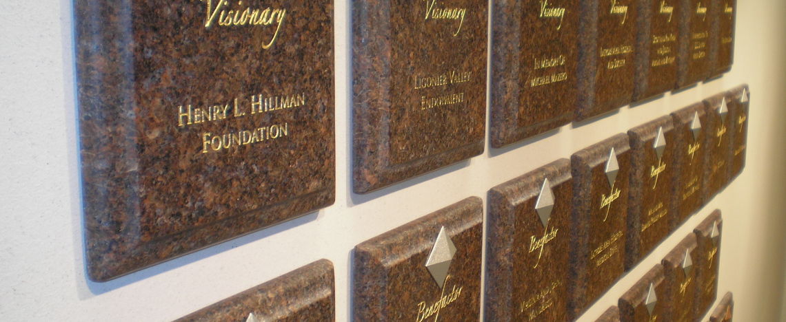 Latrobe Hospital Donor Wall