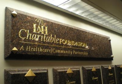 Latrobe Hospital Donor Wall