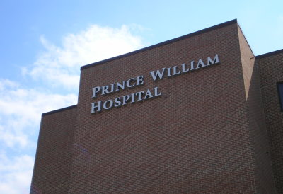 Prince William Hospital Cut Out Letters