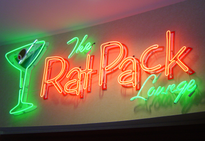 The Rat Pack Lounge at the Radisson Hotel