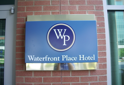 Waterfront Place Hotel Entrance