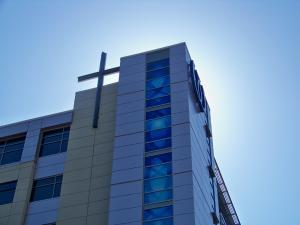 Wheeling Hospital Building Identification