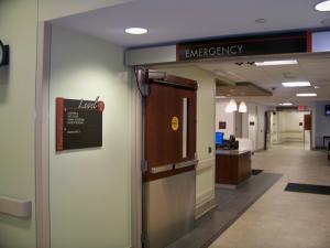 Wheeling Hospital Interior