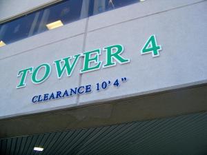 Wheeling Hospital Tower Identification