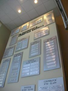 Cookeville Regional Medical Center Donor Wall