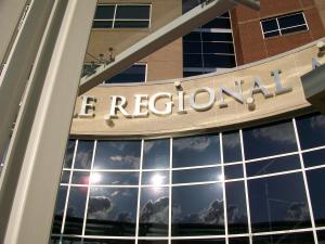 Cookeville Regional Medical Center Cut-out Letters