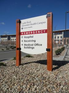 Castle Rock Adventist Health Campus Directional