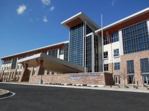 Castle Rock Adventist Health Campus Entrance