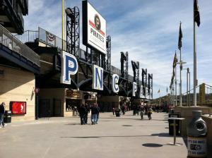 PNC Park Exterior Letters